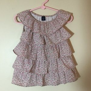 BabyGap Tiered Ruffle Top. 2T